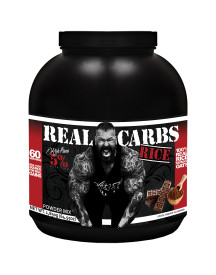 Real Carbs Rice 2220gr Cocoa Heaven 5% Nutrition afbeelding