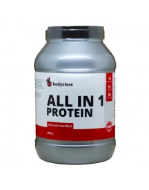 All In One Protein - 2000 G - Banana Strawberry - Bodystore afbeelding