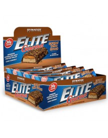 Elite Gourmet Protein Bar - Dymatize - 12 Repen - Caramel Toffee Crunch afbeelding