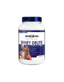 Whey Delite - Chocolate Covered Strawberry - 907 G - Infinite Labs afbeelding