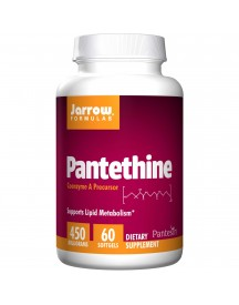 Pantethine, 450 Mg, 60 Softgels - Jarrow afbeelding