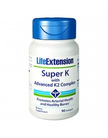 Super K With Advanced K2 Complex - 90 Softgels - Life Extension afbeelding