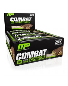 Combat Crunch Bar - White Raspberry - 1 Doos - Musclepharm afbeelding