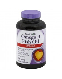 Omega 3 Fish Oil 1000mg - 150 Softgels - Natrol afbeelding