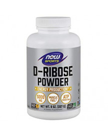 Now Foods, Sports, D-ribose Powder, 8 Oz (227 G) afbeelding