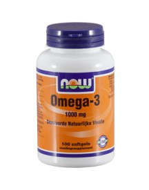 Omega-3 Basis 1000mg - 100 Softgels - Now Foods afbeelding