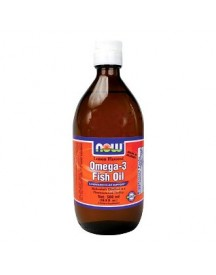 Omega 3 Fish Oil Liquid 7fl Oz - Now - 200ml - Lemon afbeelding