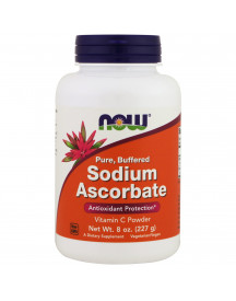 Sodium Ascorbate Powder 8oz Now afbeelding