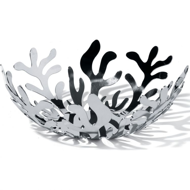 Image Alessi Mediterraneo Fruit Holder Small Zilver