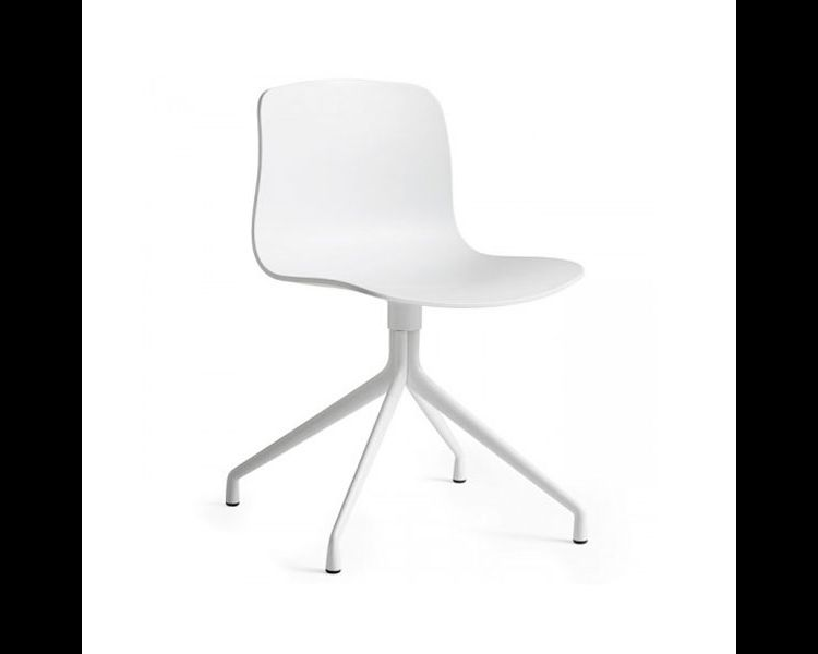 Image Hay About A Chair Aac10 Stoel Met Wit Onderstel White