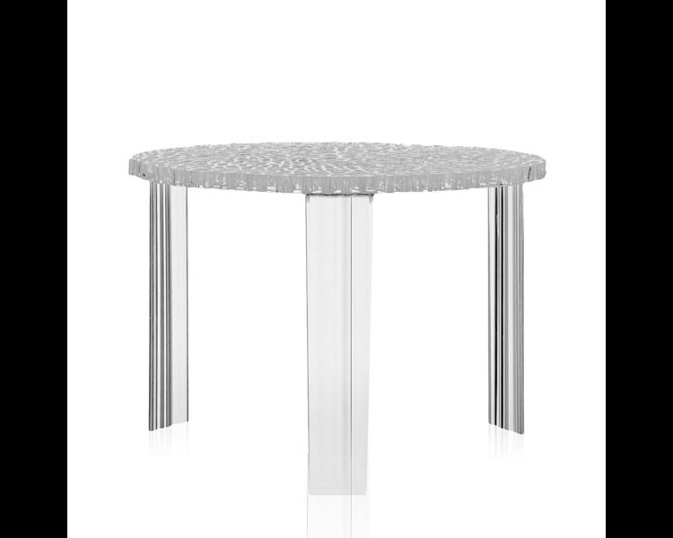 Image Kartell T-table Kristal Medium