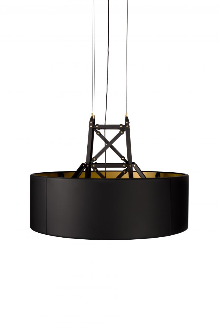 Image Moooi Construction Lamp Hanglamp Medium Mat Zwart