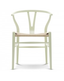 Carl Hansen & Son Ch24 Wishbone Stoel Colours Natural Light Green afbeelding