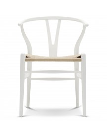 Carl Hansen & Son Ch24 Wishbone Stoel Colours Natural Natural White afbeelding