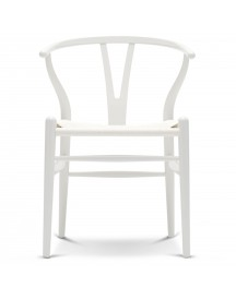 Carl Hansen & Son Ch24 Wishbone Stoel Colours White Natural White afbeelding