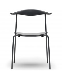 Carl Hansen & Son Ch88t Powdercoated Stoel Anthracite Grey afbeelding