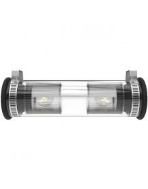 Dcw éditions In The Tube 100-350 Wandlamp Zilver afbeelding