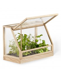 Design House Stockholm Greenhouse Mini Kast Essenhout afbeelding