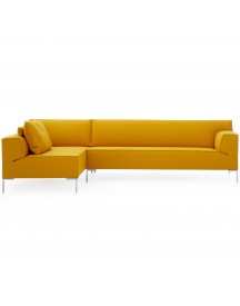 Design On Stock Bloq Bank 3-zits 1-arm Chaise Longue Divina 462 Curry afbeelding