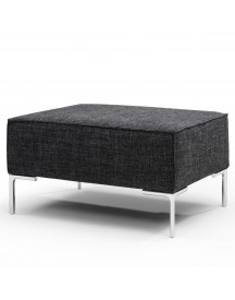 Design On Stock Bloq Poef 80x58cm Stanton 222 Midnight afbeelding