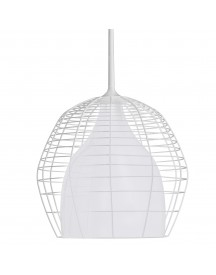 Diesel Cage Hanglamp Large Wit afbeelding