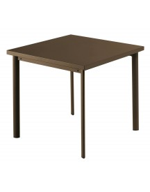 Emu Star Square Tafel Indian Brown 70x70 afbeelding