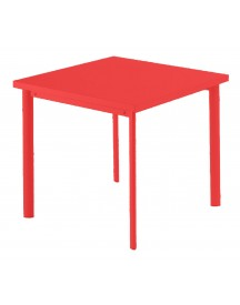 Emu Star Square Tafel Scarlet Red 70x70 afbeelding