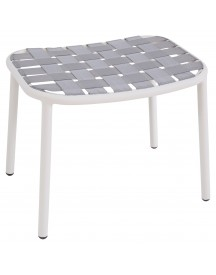 Emu Yard Foot Stool Voetenbank Matt White/grey afbeelding