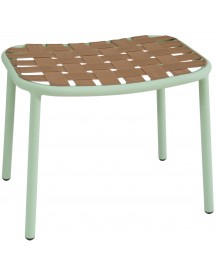 Emu Yard Foot Stool Voetenbank Mint Green/beige afbeelding