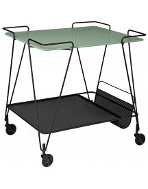 Gubi Mategot Trolley Dusty Green afbeelding