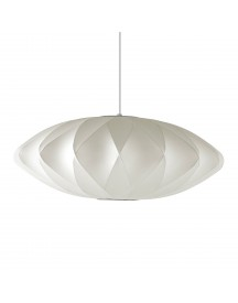 Herman Miller Nelson Bubble Saucer Criss Cross Hanglamp Medium afbeelding