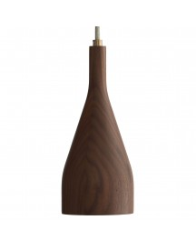 Hollands Licht Timber Hanglamp Large Walnoot afbeelding