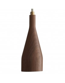 Hollands Licht Timber Hanglamp Small Walnoot afbeelding