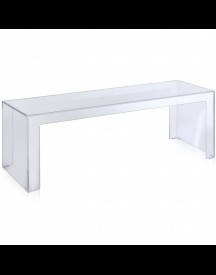 Kartell Invisible Side High Tafel Transparant afbeelding