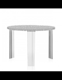 Kartell T-table Kristal Medium afbeelding