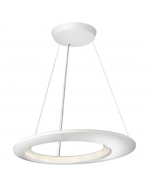 Lirio By Philips Ecliptic Hanglamp Led Large Wit afbeelding
