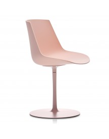 Mdf Italia Flow Color Central Leg Stoel Roze afbeelding