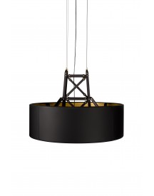 Moooi Construction Lamp Hanglamp Medium Mat Zwart afbeelding