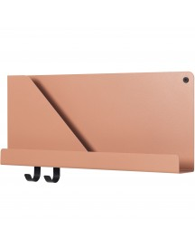Muuto Folded Wandplank Small Light Terracotta afbeelding