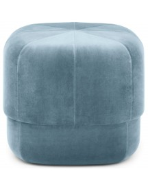 Normann Copenhagen Circus Velour Poef Small Light Blue afbeelding