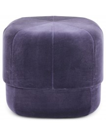 Normann Copenhagen Circus Velour Poef Small Purple afbeelding