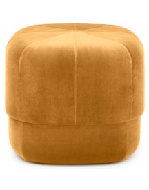 Normann Copenhagen Circus Velour Poef Small Yellow afbeelding