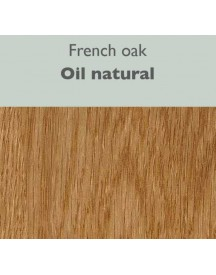 Qliv Side-to-side Tafel 240x100 Natural Oak Oil afbeelding