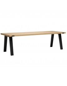 Qliv Side-to-side Tafel 240x100 Skylt Soap Look afbeelding