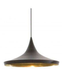 Tom Dixon Beat Light Wide Hanglamp Zwart afbeelding