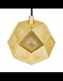 Tom Dixon Etch Mini Hanglamp Messing afbeelding