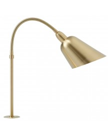 &tradition Bellevue Aj10 Bureaulamp Satin Polished Brass afbeelding