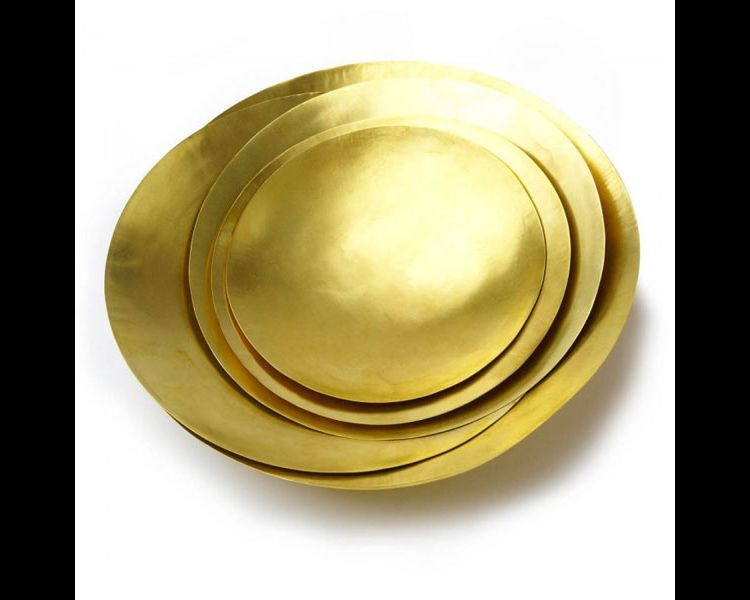 Image Tom Dixon Form Bowl Schaal Set Large Goud
