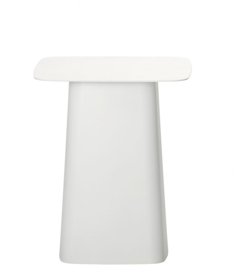 Image Vitra Metal Side Table Bijzettafel Wit Klein