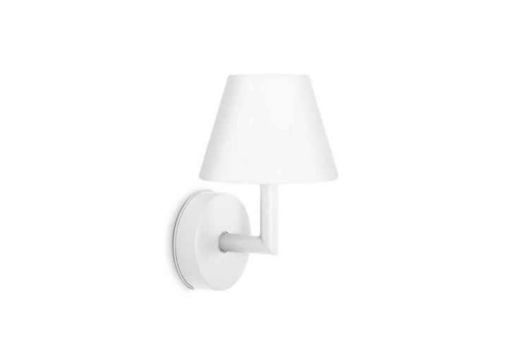 Image Fatboy Add The Wally Oplaadbare Wandlamp Wit